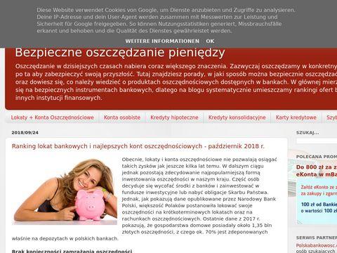 Konta-oszczednosciowe.blogspot.com - porady finansowe