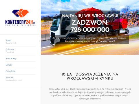 Kontenery Wrocław