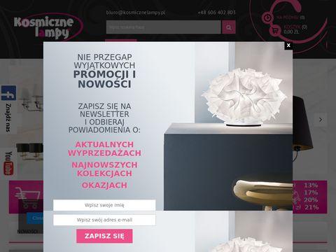 Lampy online - kosmicznelampy.pl