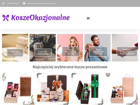 Kosze upominkowe | koszeokazjonalne.com.pl