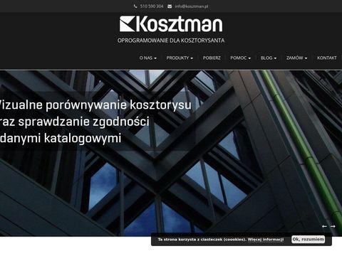 KOMA 5 - Program do kosztorysowania - kosztorysy budowlane - PROFESJONALNE