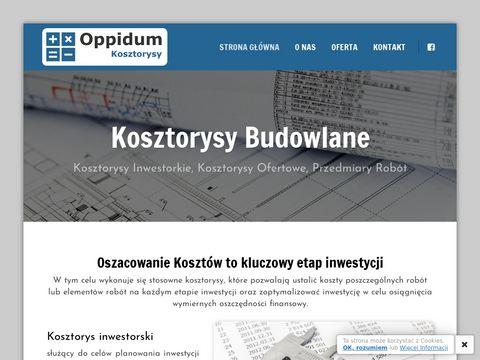 Oppidum Kosztorysy - Twój Kosztorysant