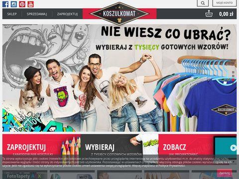 Koszulki z własnym nadrukiem - Koszulkomat.eu