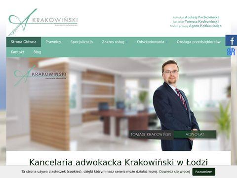 Kancelaria Adwokacka Adwokat Andrzej Krakowiński o
