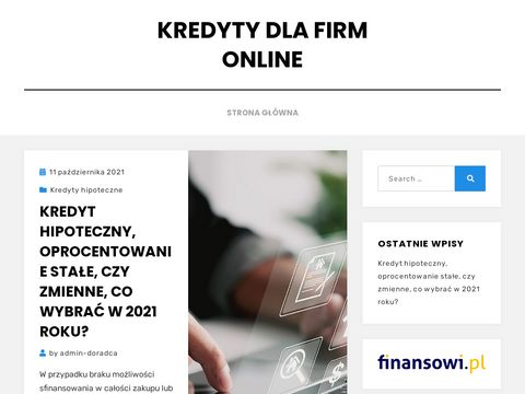 Kredyt dla firm