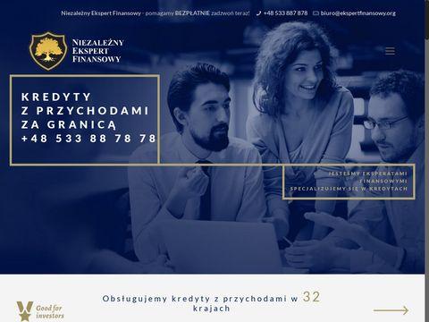 Kredyty dla pracuj膮cych za granic膮 - Eksperci Finansowi Polska
