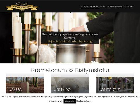 Krematorium w Białymstoku - Szmurło