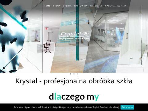 Krystal - hartownia szkła Warszawa