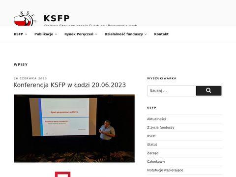 Krajowe Stowarzyszenie Funduszy PorÄ™czeniowych