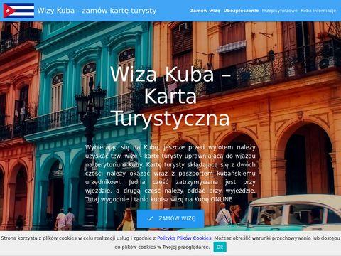 Kuba-wiza.pl - karta turysty Kuba