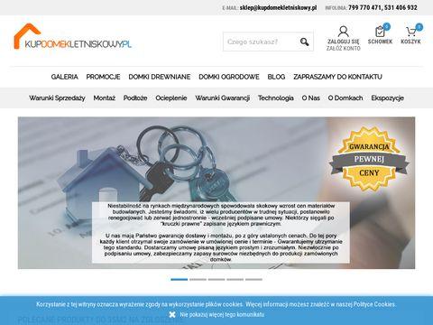 Domki Drewniane Letniskowe   Kup Domek na Działkę   Producent Alpina