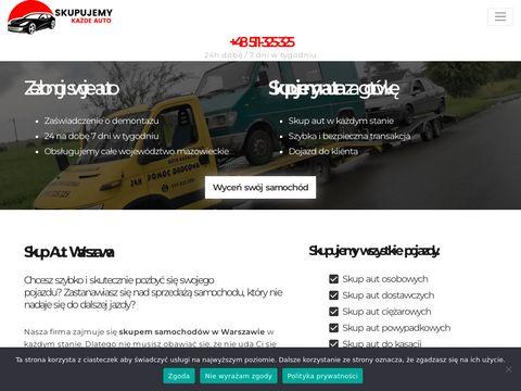 Skup samochodów warszawa - kupiewszystkieauta.pl