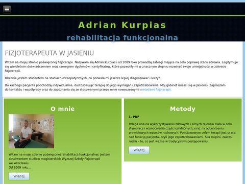Adrian Kurpias Usługi Fizjoterapeutyczne