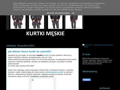 Kurtki m臋skie