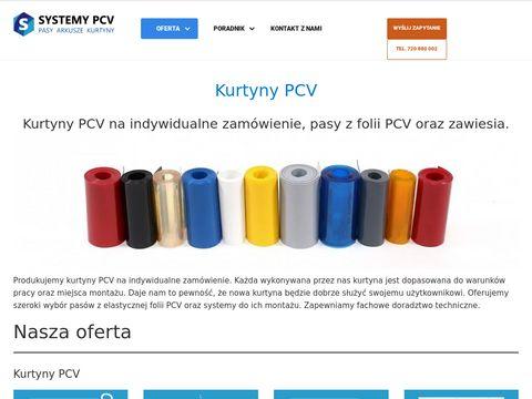 Kurtyny PCV - kurtyny paskowe, przesuwane i plandekowe