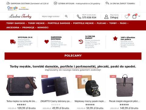 Galanteria mÄ™ska - ladnetorby.pl