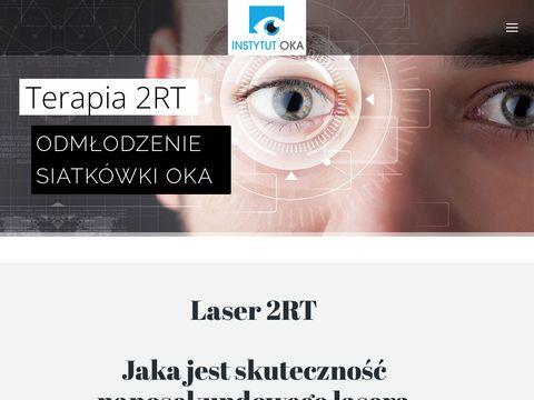 Laser 2RT - zwyrodnienie plamki żółtej