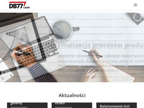 Lean DB77 Consulting - doradztwo w zakresie optymalizacji procesów