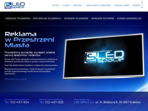Wynajem telebimów ledspace.pl