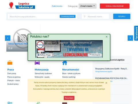 Legnica - og艂oszenia lokalne