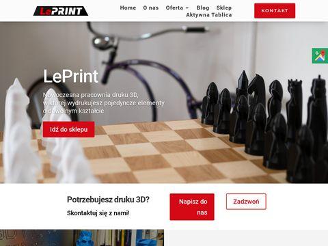 Leprint.pl skaner 3d Legnica