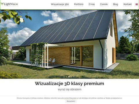 Fotrealistyczne modele 3d - LightVision Studio