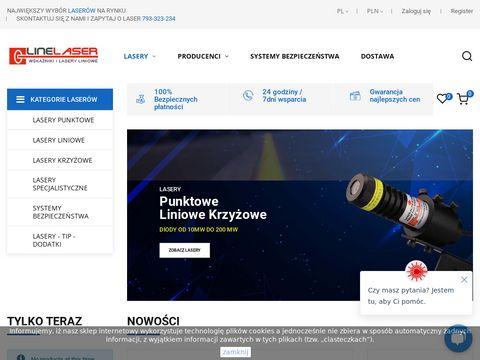 Lasery krzyżowe - linelaser.pl