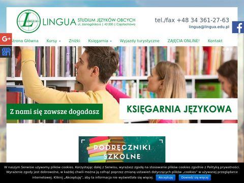 Www.lingua.edu.pl szko艂a j臋zyk贸w obcych