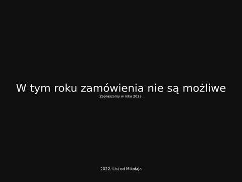 Listy od Świętego Mikołaja dla dzieci i dorosłych