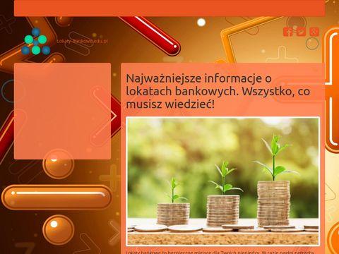 Lokaty bankowe