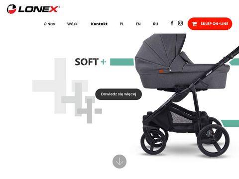 Polski producent wózków - Lonex