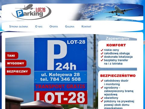 Parking lotnisko Pyrzowice - lot28.pl