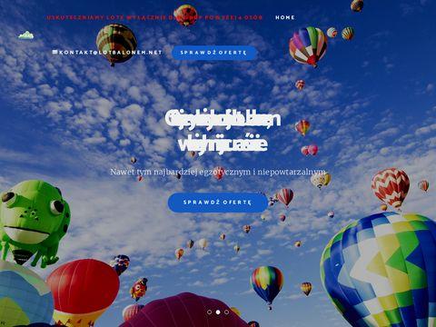 Lot Balonem - loty widokowe, loty grupowe, balon na eventy, pierwszy lot balonem