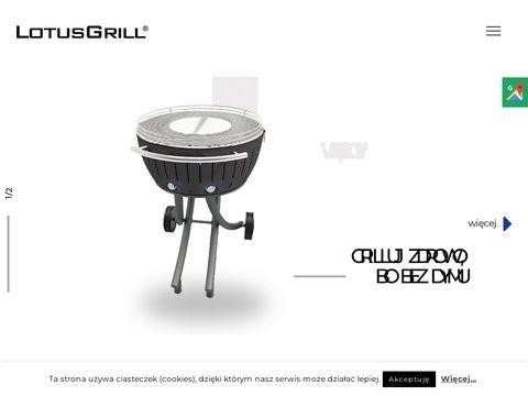 Ekologiczny grill bezdymny - LotusGrill