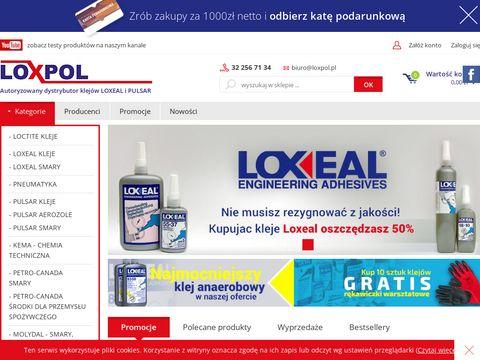 LOXPOL - kleje i smary przemysłowe