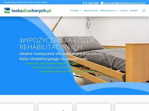 Wypożyczalnia łóżek - lozkadlachorych.pl