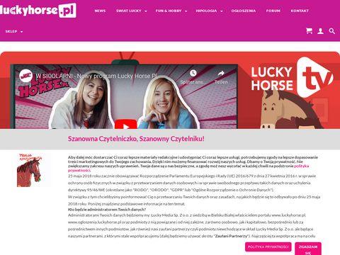 Portal dla miłośników koni - Lucky Horse PL