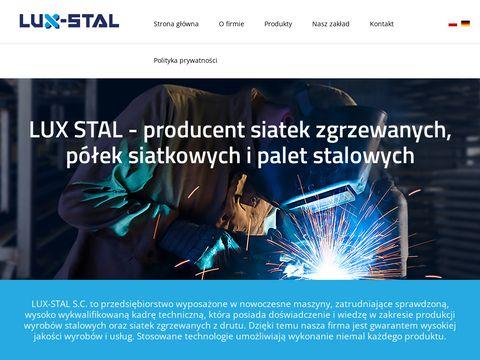 LUX-STAL Producent kontener贸w siatkowych - Brodnica, Manieczki