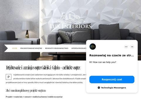 Biurka - luxinteriors.pl