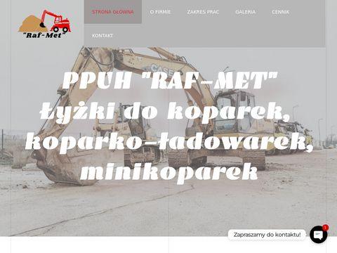 Produkcja łyżek do koparko-ładowarek - Raf-Met