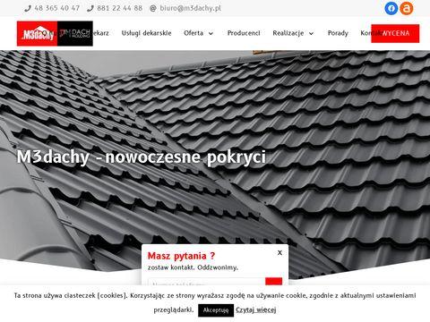 Blachodachówka Radom - M3 Dachy