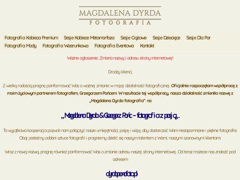 Magdalena Dyrda   FOTOGRAF - Sesje zdj臋ciowe plenerowe i studyjne.