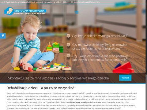 MagdaPietrzak.com - Rehabilitacja Niemowl膮t Pozna艅