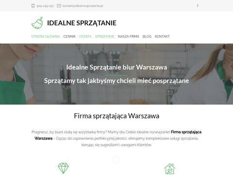 Firma sprzątająca Warszawa, profesjonalne sprzątanie mieszkań, biur, usługi porządkowe
