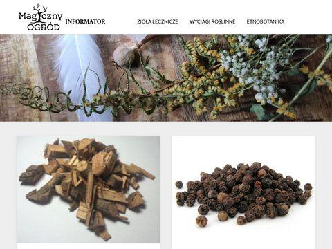 Magicznyogrod.info - blog informacyjny o ziołach
