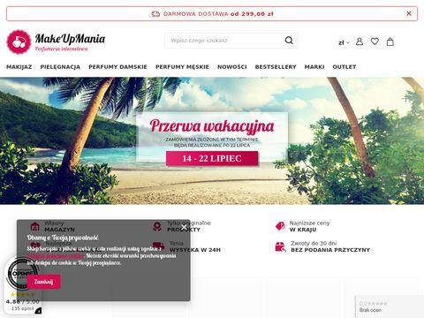 MakeUpMania.com.pl - perfumeria internetowa