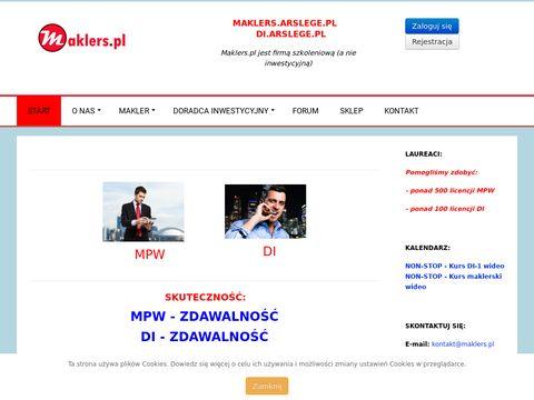 Serwis Edukacyjny Rynku Kapitałowego Maklers