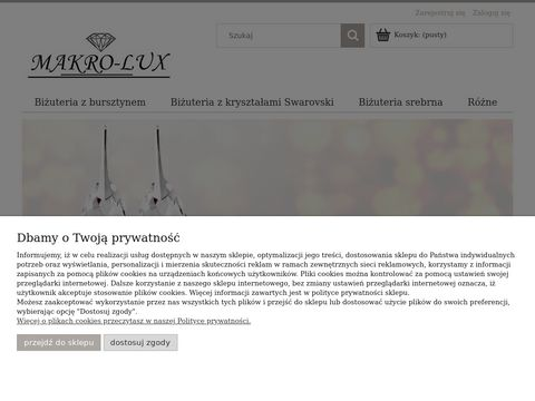 MAKRO-LUX Biżuteria z Bursztynem, Kolczyki, Bransoletki