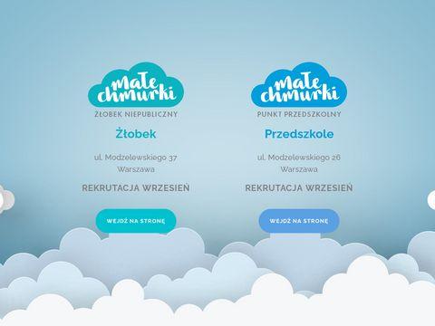 Prywatny Żłobek Warszawa Mokotów - malechmurki.pl