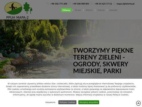 MAPA-2 projektowanie ogrodów Jarosław